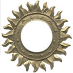 Gold_Sun_Shaped_Photo_Frame_by_FantasyStock